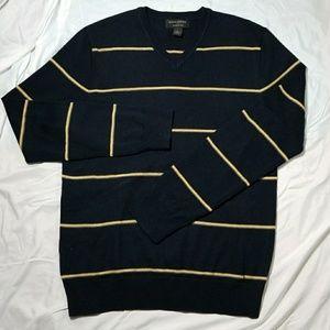 BANANA REPUBLIC Men's Merino Wool VNeck Sweater